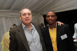 Darryl Weisz, ORT SA Chairman with Mr Raymond Martin, Johannesburg District Director Gauteng Department of Education