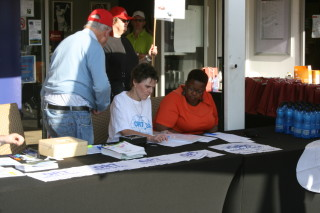 Registration for the Golf Day