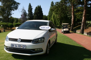 """4th Hole Competition  """"Hole in One"""" car sponsored by Hatfield Motors"""