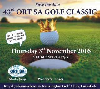 ORT SA's 43rd Annual Golf Classic @ Royal Johannesburg Golf Club | Johannesburg | Gauteng | South Africa