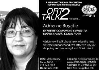 ORT2TALK- a series of fascinating talks by inspiring people @ ORT SA Academy