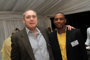 Darryl Weisz, ORT SA Chairman with Mr Raymond Martin, Johannesburg District Director Gauteng Department of Education