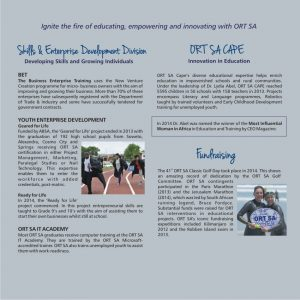 ORT SA Annual Report 2014