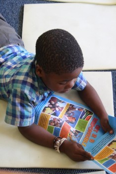 Nelson Mandela Day 2015 Alexandra Children's Library