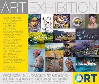 ORTArt EXHIBITION @ ORT SA Academy | Johannesburg | Gauteng | South Africa