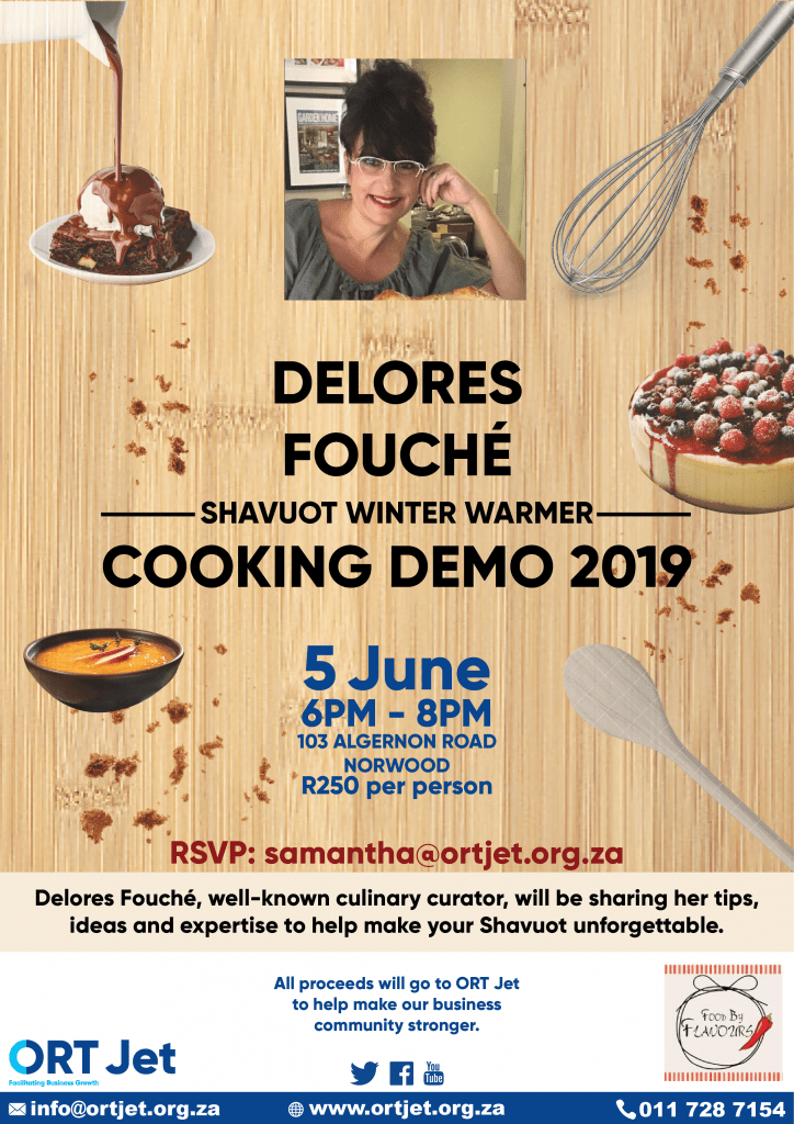 Cooking Demonstration with Delores Fouche