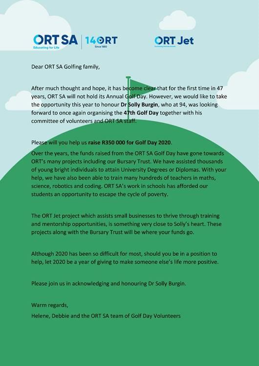 Donate to ORT SA