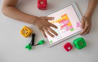 Young child coding